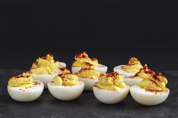 Angelic Deviled Egg Recipe